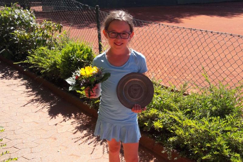 Katharina Nau ist Landesmeisterin Ihrer Altersklasse U 10